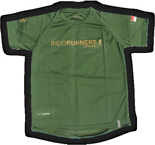 indorunner bandung BASIC GREEN ARMY